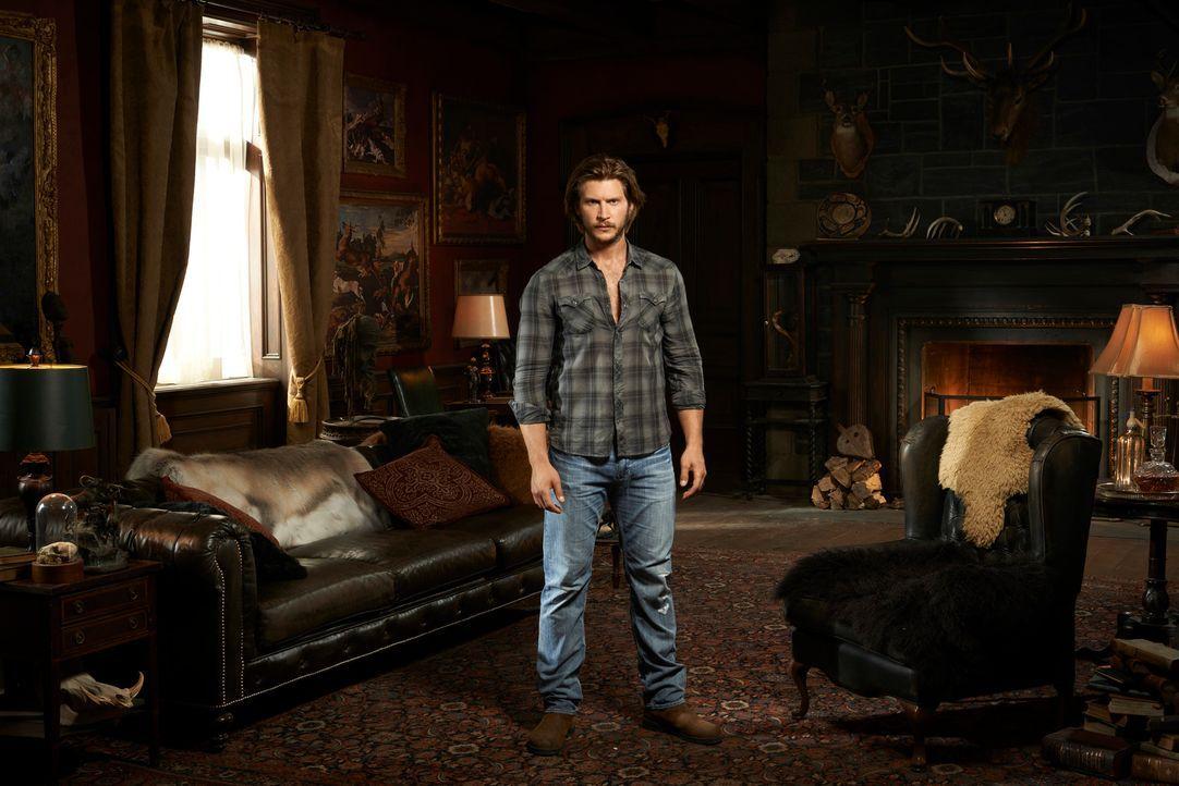 (1. Staffel) - Kann Clayton Danvers (Greyston Holt) sein Rudel beschützen? - Bildquelle: 2014 She-Wolf Season 1 Productions Inc.