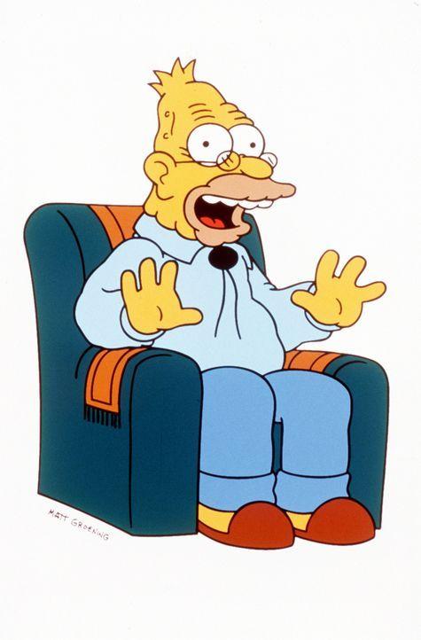 (9. Staffel) - Grandpa Simpson spielt eine große Rolle im chaotischen Familien-Clan. - Bildquelle: und TM Twentieth Century Fox Film Corporation - Alle Rechte vorbehalten