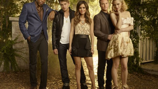 Hart of Dixie: Lavon Hayes (Cress Williams), Wade Kinsella (Wilson Bethel), Z...