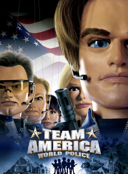 TEAM AMERICA - Plakatmotiv - Bildquelle: Paramount Pictures