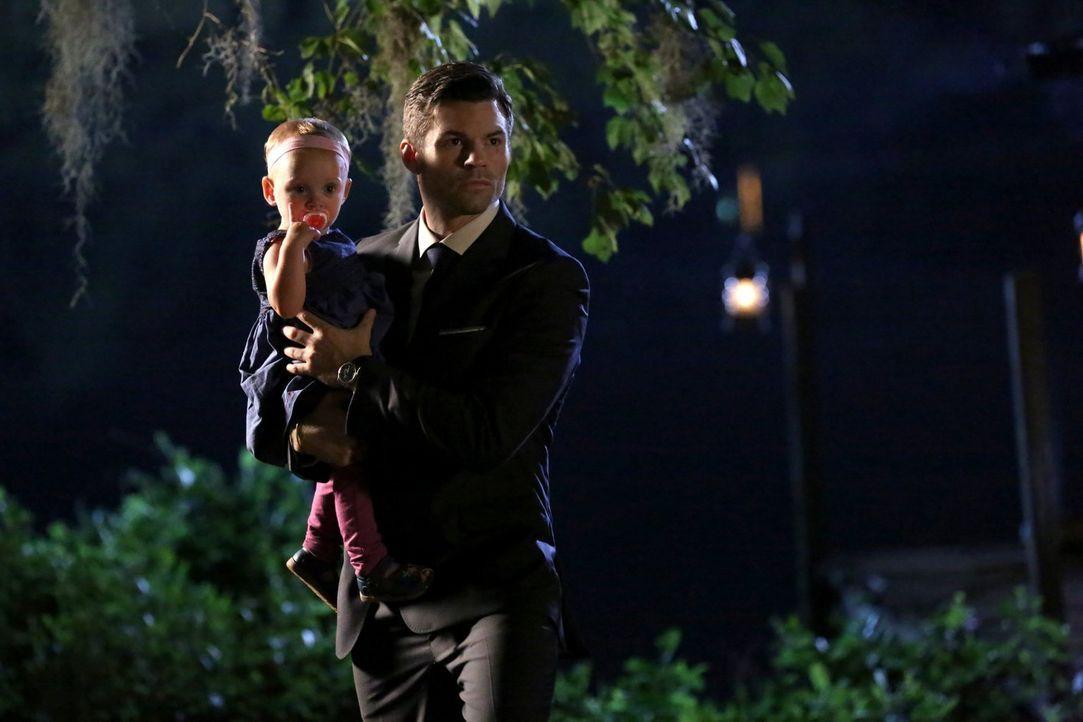 Während sich Elijah (Daniel Gillies) um die Sicherheit der Werwölfe kümmert, bekommt Klaus eine Warnung, die ihn daran erinnern soll, welch skrupell... - Bildquelle: Warner Bros. Entertainment Inc.