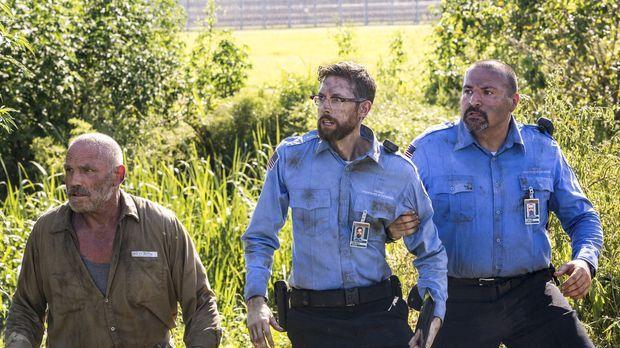 Laboranalyst Sebastian (Rob Kerkovich, M.) wird auf brutale Weise gekidnapped...