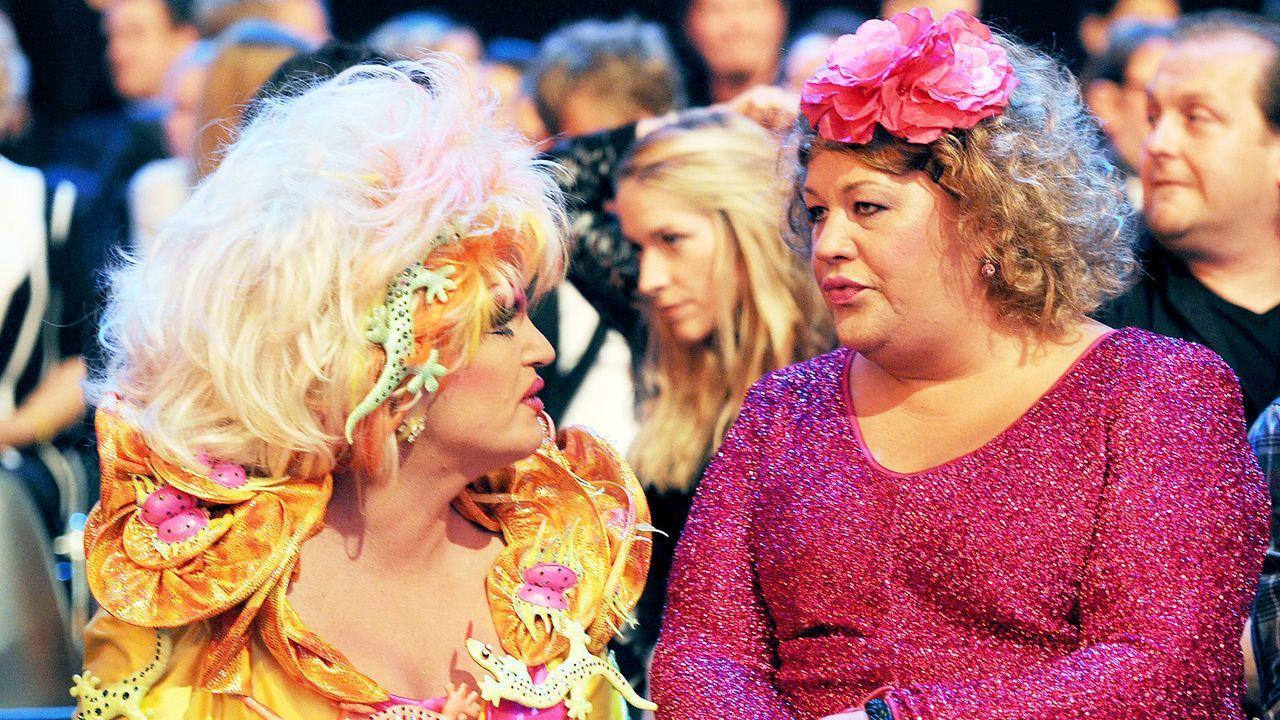 Comedypreis-2013-Olivia-Jones-Cindy-aus-Marzahn-13-10-15-dpa - Bildquelle: © +++(c) dpa - Bildfunk+++ dpa picture alliance