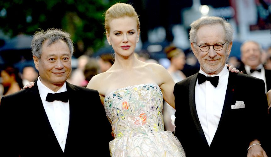 Ang Lee, Nicole Kidman und Steven Spielberg  - Bildquelle: AFP