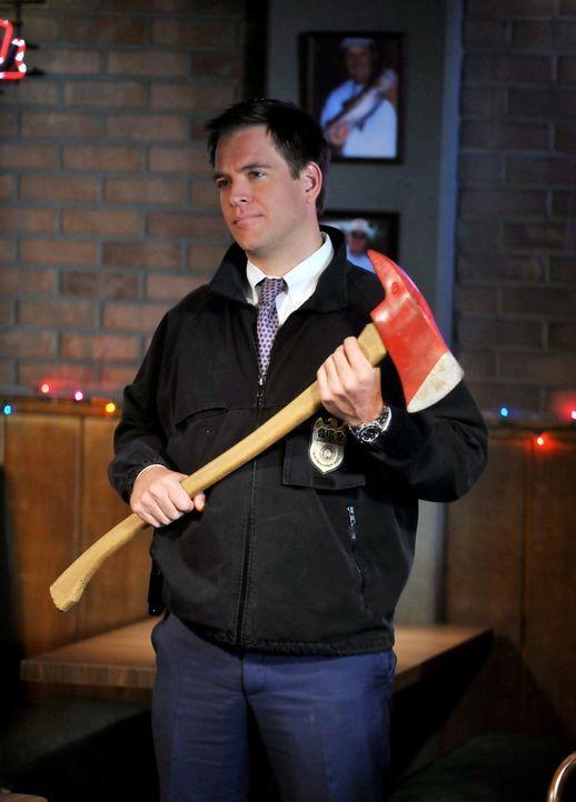 Ein Mordfall beschäftigt DiNozzo (Michael Weatherly) und seine Kollegen ... - Bildquelle: CBS Television