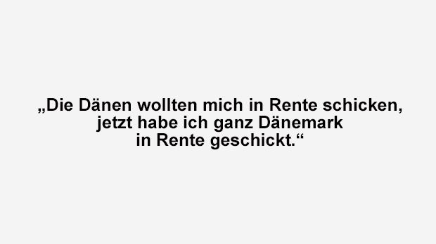 Zlatan Ibrahimovic über Dänemark-Rente - Bildquelle: ran.de