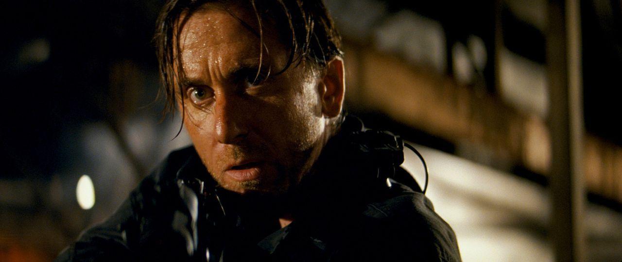 Nachdem sich der Soldat Emil Blonsky (Tim Roth) Blut von Bruce Banner verabreichen ließ, verwandelt er sich in eine monströse Kampfmaschine, die h... - Bildquelle: 2008 Marvel Entertainment, Inc. And ist subsidiaries. All Rights Reserved.