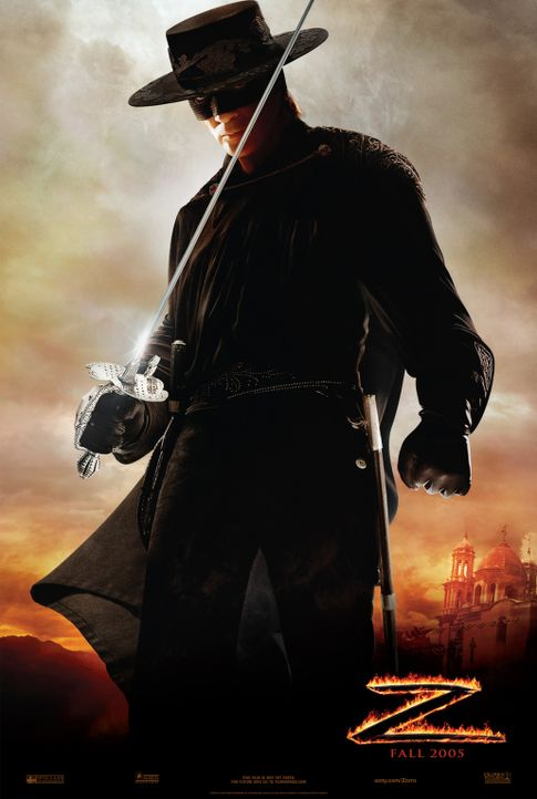 Die Legende des Zorro mit Antonio Banderas ... - Bildquelle: Sony Pictures Television International. All Rights Reserved.