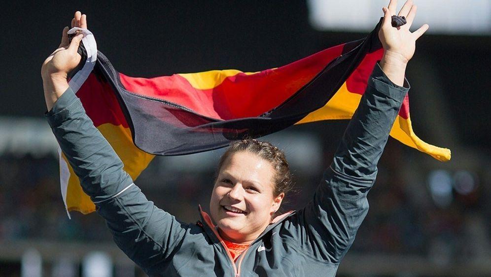 Vor Heim-EM: Christina Schwanitz gut in Form - Bildquelle: PIXATHLONPIXATHLONSID