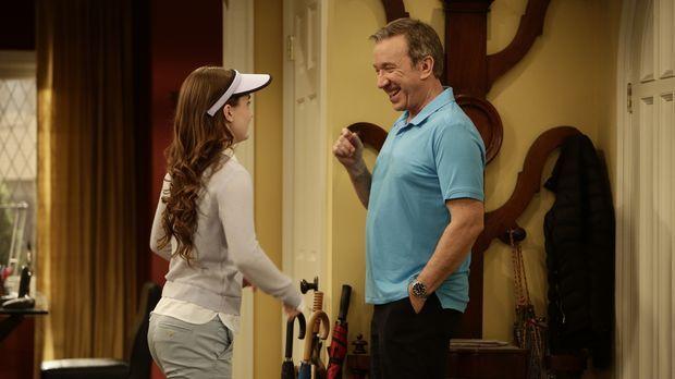 Eve (Kaitlyn Dever, l.) geht neuerdings mit Mike (Tim Allen, r.) golfen. Sie...