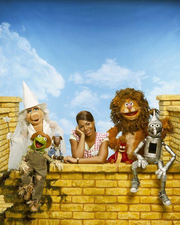 Als Dorothy Gale (Ashanti) von einem Tornado erfasst und ins ferne Land Oz gewirbelt wird, muss sie eine böse Hexe besiegen, um wieder heimkehren z... - Bildquelle: The Muppets Holding Company, LLC. MUPPETS characters and elements are trademarks of the Muppet Holding Company, LLC.  All rights reserved