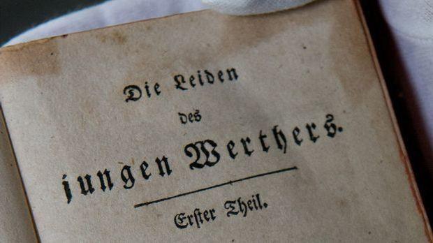 """Der """"Werther"""" macht den bis dahin noch unbekannten Goethe quasi übe..."""