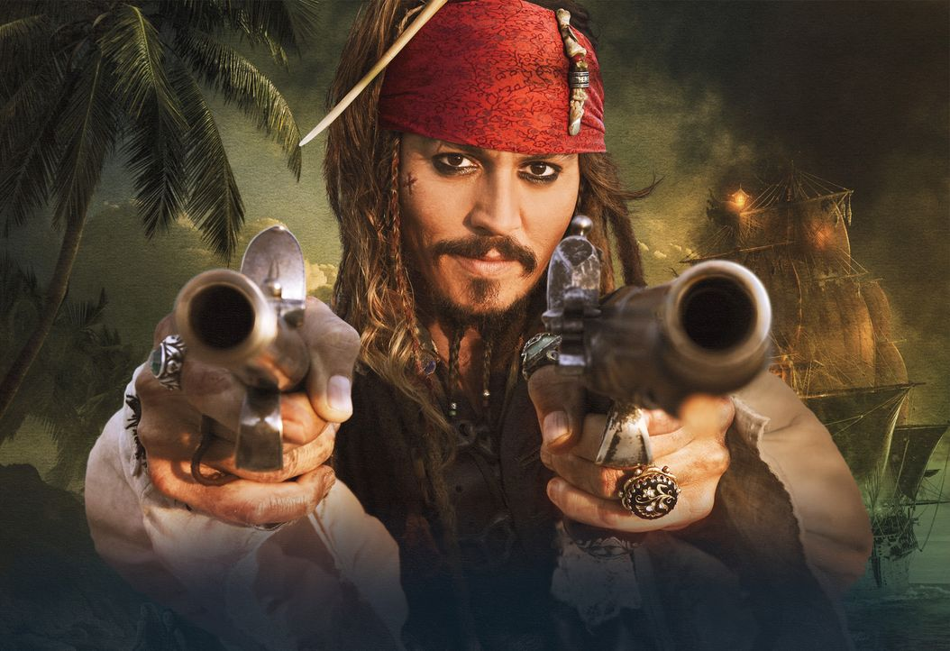 PIRATES OF THE CARIBBEAN - FREMDE GEZEITEN - Artwork - Bildquelle: WALT DISNEY PICTURES/JERRY BRUCKHEIMER FILMS.  All rights reserved
