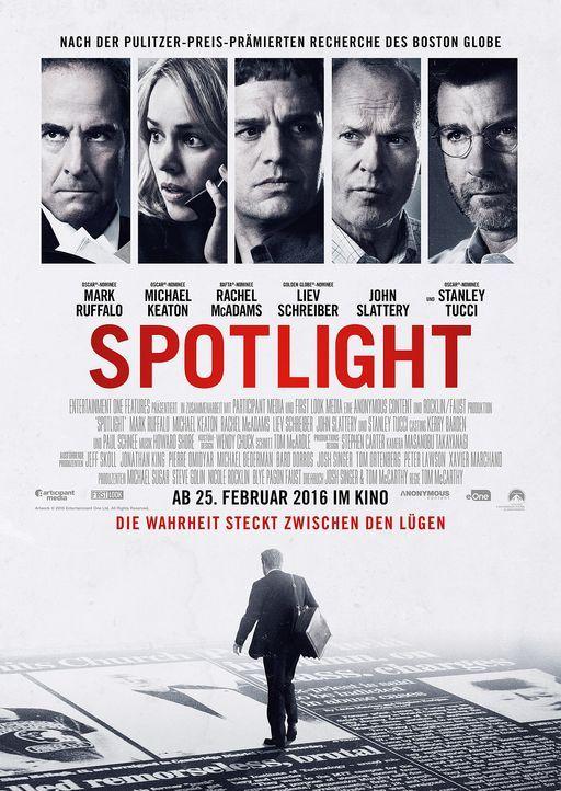 Spotlight-Plakat-Paramount - Bildquelle: Paramount