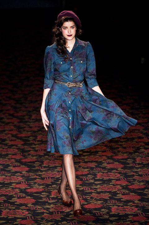 fashion-week-berlin-12-01-18-marie-nasemann2-dpajpg 1266 x 1900 - Bildquelle: dpa
