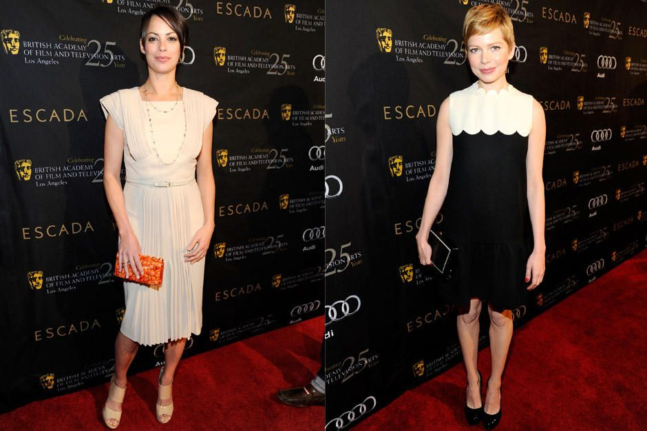 berenice-bejo-michelle-williams-12-01-14-bafta-la-getty-afpjpg 940 x 626 - Bildquelle: getty-AFP