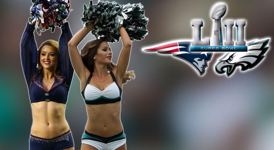 Sexy Super Bowl LII: Die Cheerleader von Eagles und Patriots - Bildquelle: Getty Images