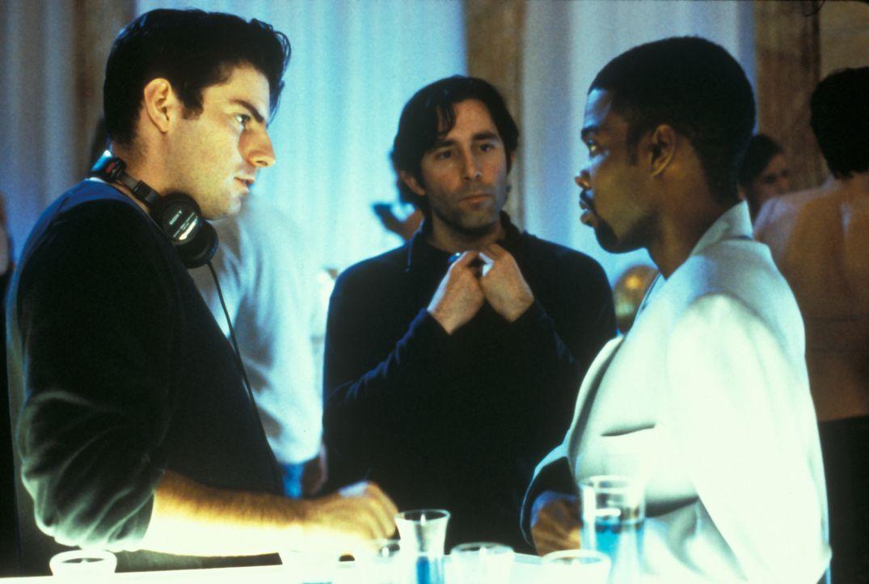 Alle kommen in den Himmel. Bloß einer nicht. Denn der schwarze Amateur-Komiker Lance (Chris Rock, r.) landet versehentlich zu früh dort. Er darf auf... - Bildquelle: Paramount Pictures