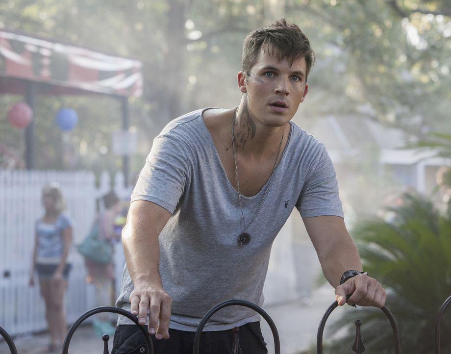 Roman (Matt Lanter) macht eine Entdeckung, die seinen Kampf für Frieden zwischen den Völkern, verkomplizieren wird ... - Bildquelle: 2014 The CW Network, LLC. All rights reserved.