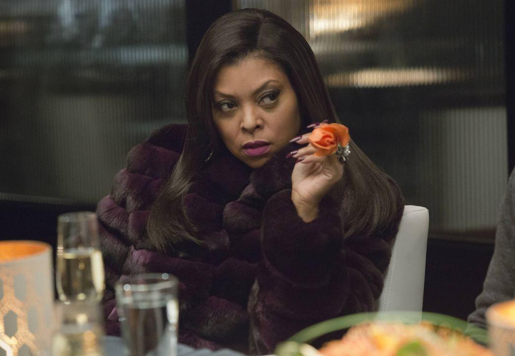 Eigentlich ging Cookie (Taraji P. Henson) mit einer anderen Erwartung zum Abendessen mit Lucious. Sie hatte seine Rose als Annäherungsversuch interp... - Bildquelle: 2015 Fox and its related entities.  All rights reserved.