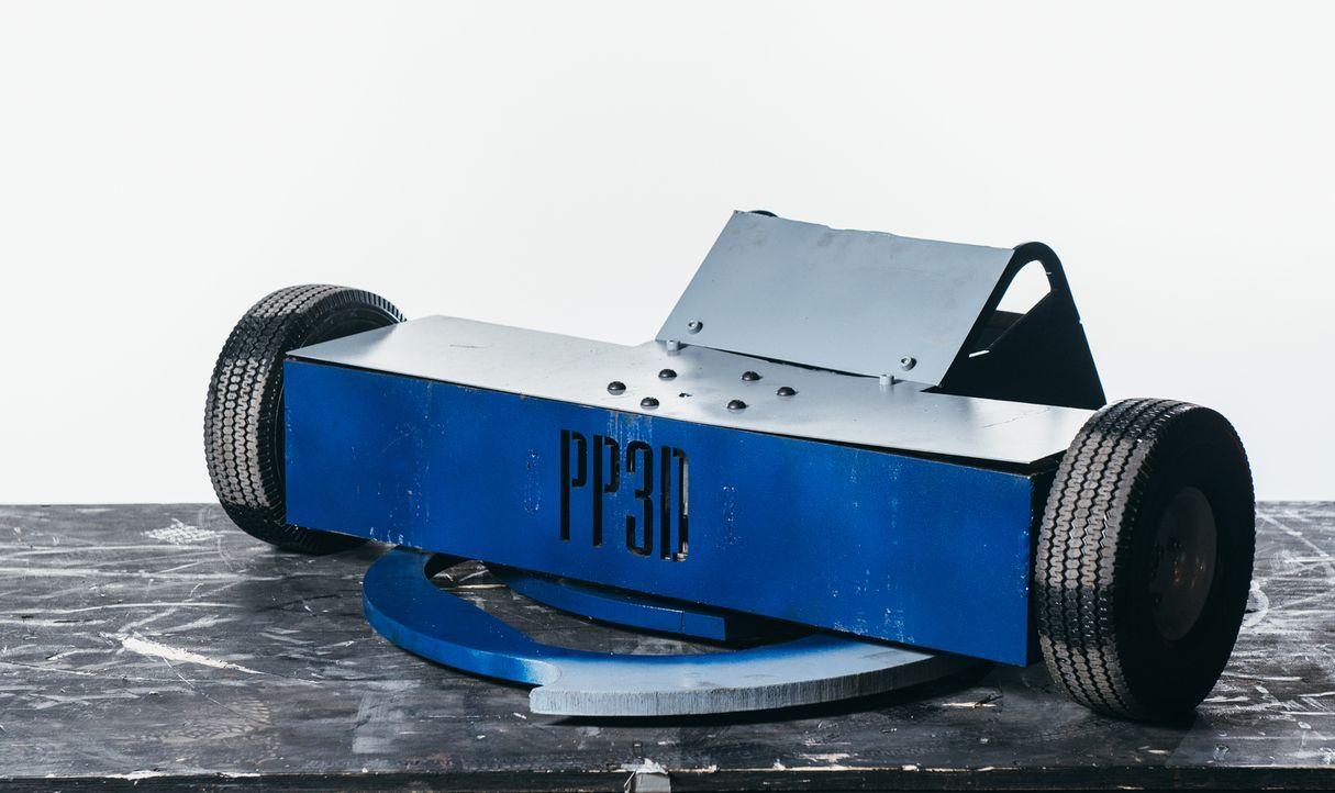 Kann der selbst gebaute Roboter von Team PP3D die gegnerischen Maschinen in der Kampfarena schlagen? - Bildquelle: Andrew Rae