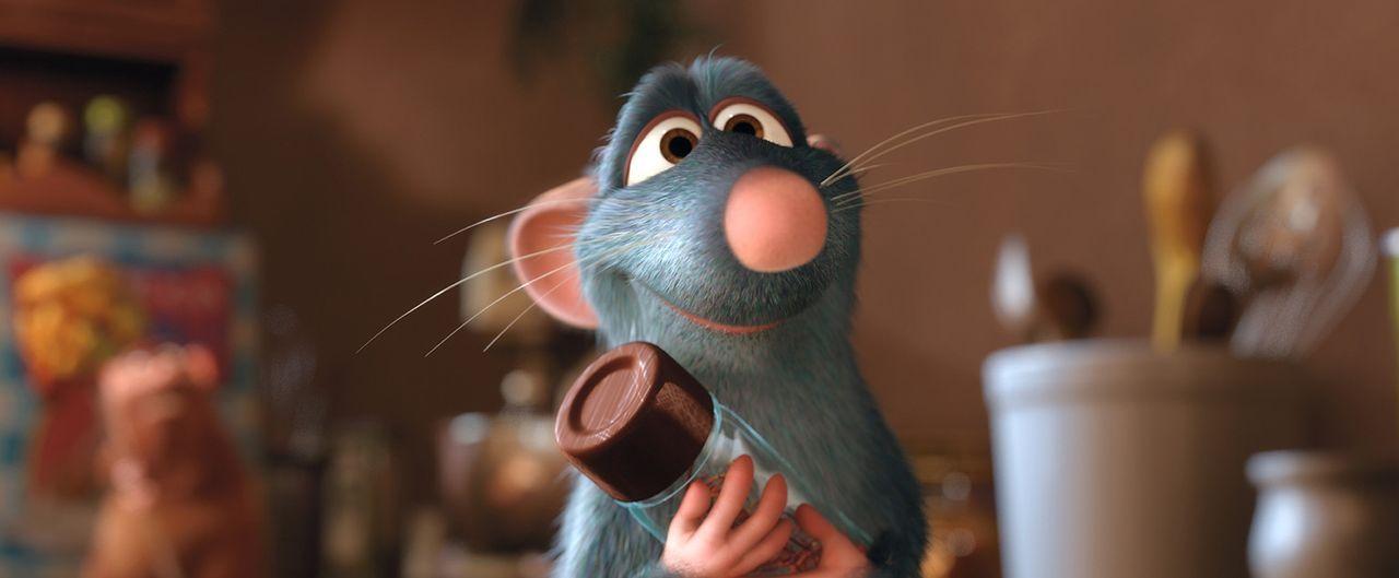 Für ausgefallene Zutaten begibt er sich gerne in Lebensgefahr: Feinschmecker Remy ... - Bildquelle: Disney/Pixar.  All rights reserved