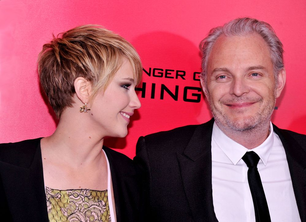 Catching-Fire-Premiere-NY-Jennifer-Lawrence-Francis-Lawrence-13-11-20-getty-AFP - Bildquelle: getty-AFP