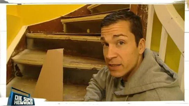 treppe renovieren und gel nder aufpolieren. Black Bedroom Furniture Sets. Home Design Ideas