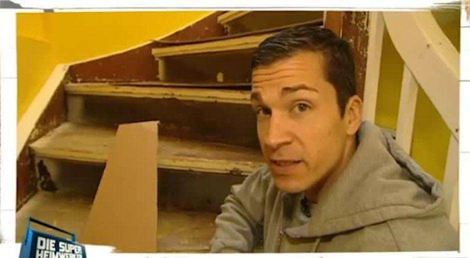 Treppe Renovieren Und Gelander Aufpolieren