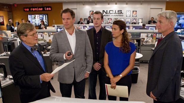 Ein neuer Fall wartet auf das Team: Ducky (David McCallum, l.), Tony (Michael...