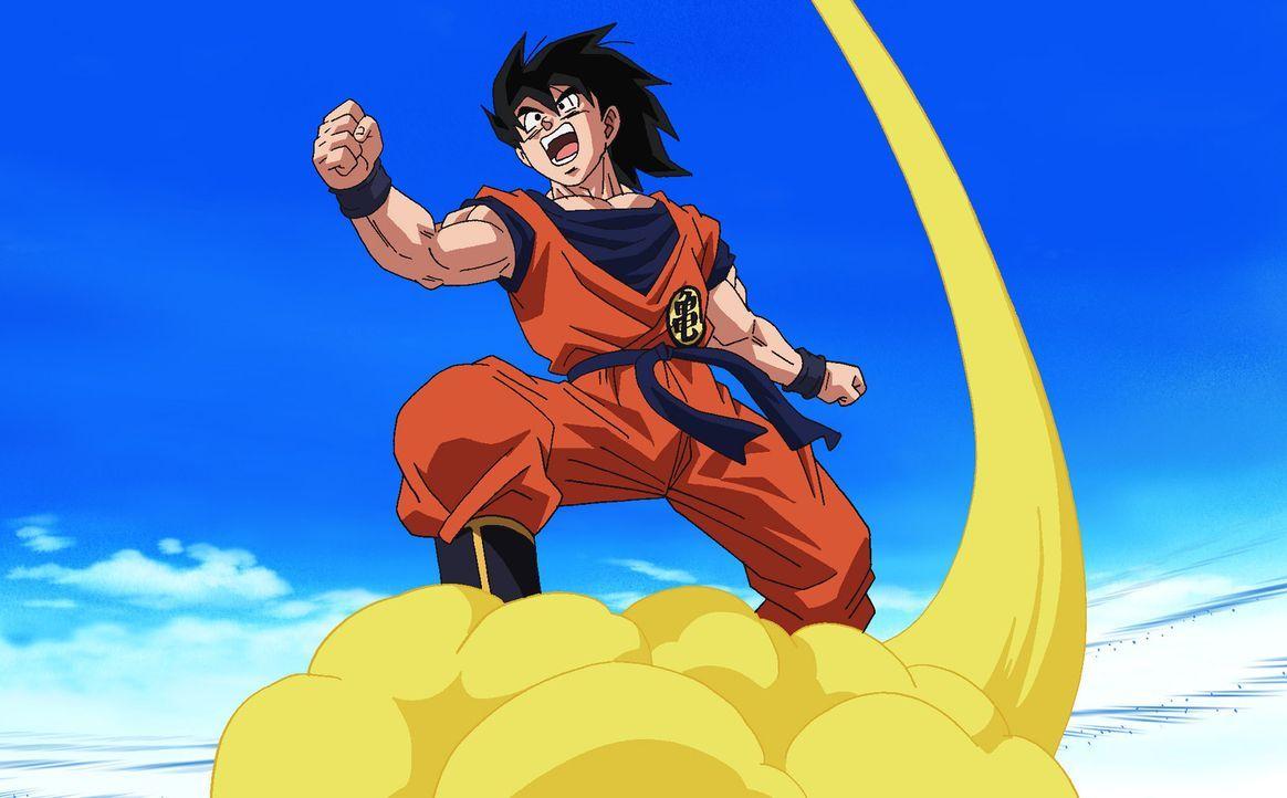 Eigentlich hat sich Son Goku mit seiner Frau Chichi und Sohn Son Gohan auf das Land zurückgezogen, doch die Zeit des Friedens und der Ruhe ist bald... - Bildquelle: Film  2009 Toei Animation Co., Ltd.  Bird Studio/Shueisha, Toei Animation