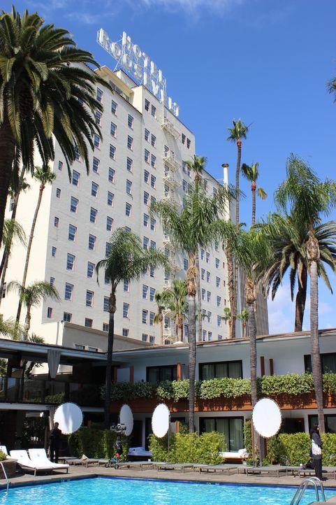 Das berühmte Roosevelt Hotel, das nach dem 26. amerikanischen Präsidenten Theodore Roosevelt benannt wurde, ist eine Art Wahrzeichen des Hollywood B... - Bildquelle: Indigo Films/ DCL
