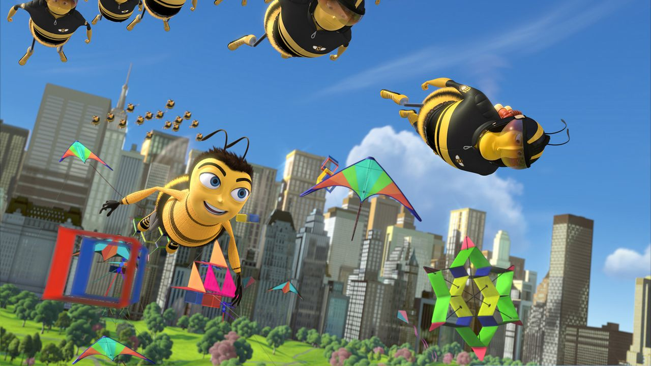Im großen New York sucht Barry nach seiner Bestimmung ... - Bildquelle: BEE MOVIE TM &   2007 DREAMWORKS ANIMATION LLC. All Rights Reserved.