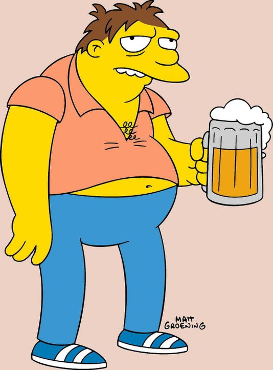 (14. Staffel) - Homers bester Freund, Barney Gumble, liebt Bier und Salzbrezln in Moe's Taverne ... - Bildquelle: und TM Twentieth Century Fox Film Corporation - Alle Rechte vorbehalten