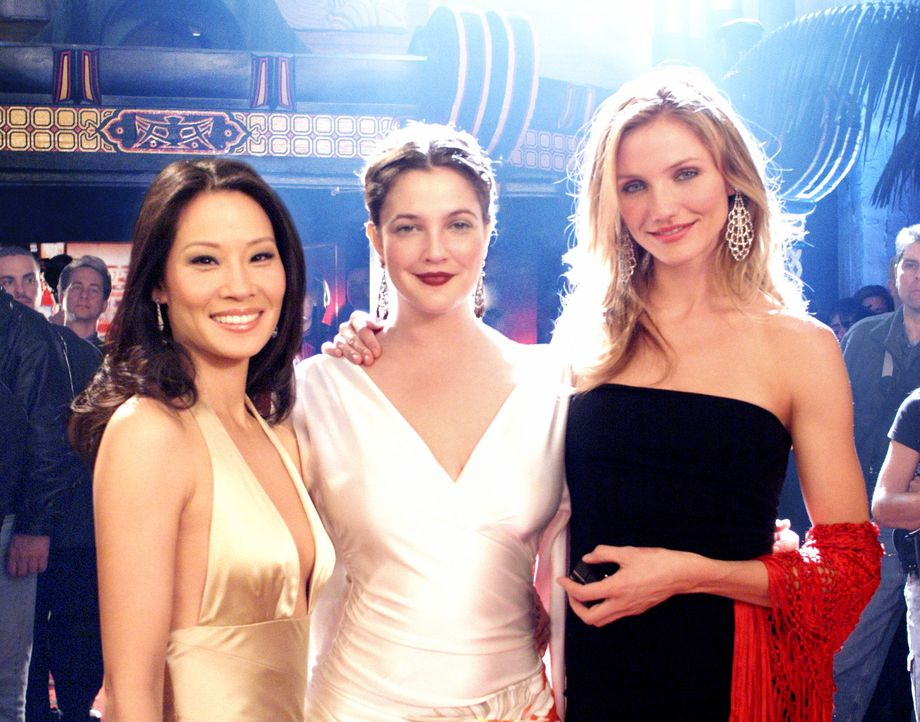 Amerikas stärkste Geheimwaffe gegen das Verbrechen: (v.l.n.r.) Alex (Lucy Liu), Dylan (Drew Barrymore) und Natalie (Cameron Diaz) ... - Bildquelle: Sony Pictures Television International. All Rights Reserved.