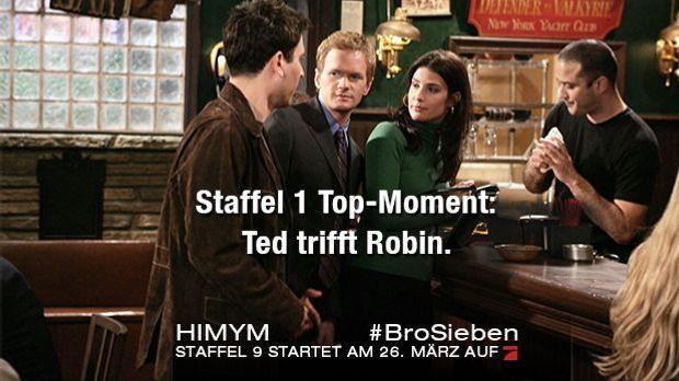 Ted & Robin: Das erste Treffen