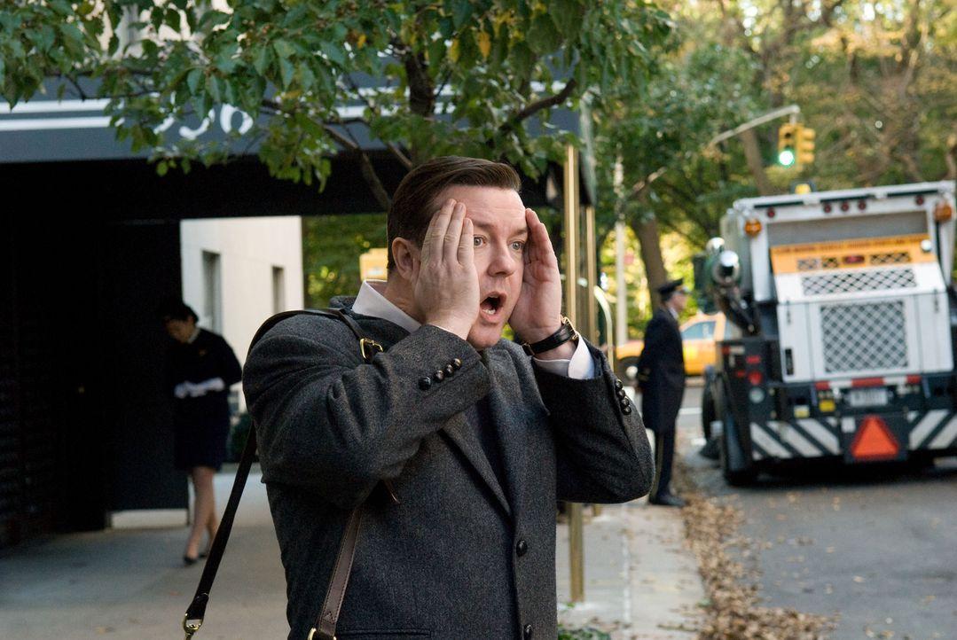 Der mürrische New Yorker Zahnarzt Dr. Bertram Pincus (Ricky Gervais) hat nur einen Wunsch: von seinen Mitmenschen in Ruhe gelassen zu werden. Sein... - Bildquelle: MMVIII DREAMWORKS LLC AND SPYGLASS ENTERTAINMENT FUNDING, LLC. All rights reserved.