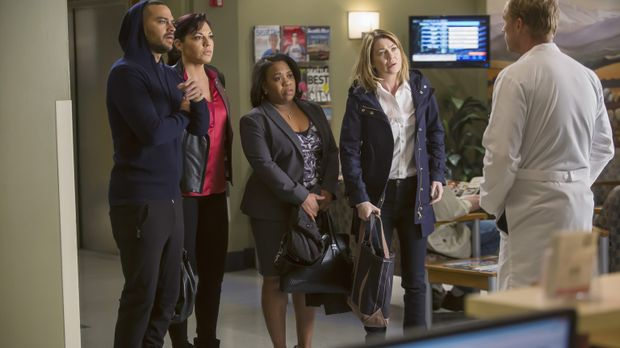 Owen (Kevin McKidd, r.) hat einen ganz besonderen Einsatz für Meredith (Ellen...
