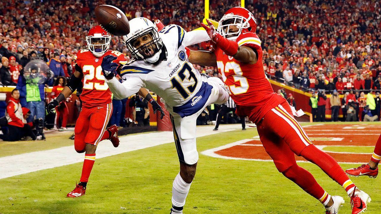 Keenan Allen (Los Angeles Chargers) - Bildquelle: 2018 Getty Images