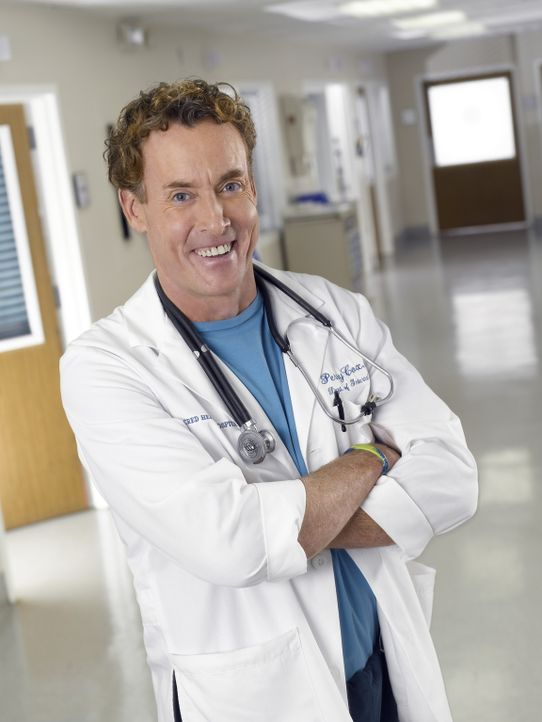 (7. Staffel) - Hält seine Schützlinge gerne auf Trapp: Dr. Phil Cox (John C. McGinley) ... - Bildquelle: Touchstone Television