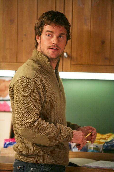 Meredith fühlt sich in der Gesellschaft von Dr. Finn Dandridge (Chris O'Donnell) recht wohl ... - Bildquelle: Touchstone Television