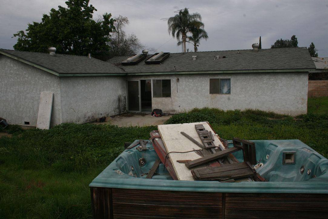 Wird dieses Haus den El Moussas nach dem Umbau viel Geld einbringen? - Bildquelle: 2015,HGTV/Scripps Networks, LLC. All Rights Reserved