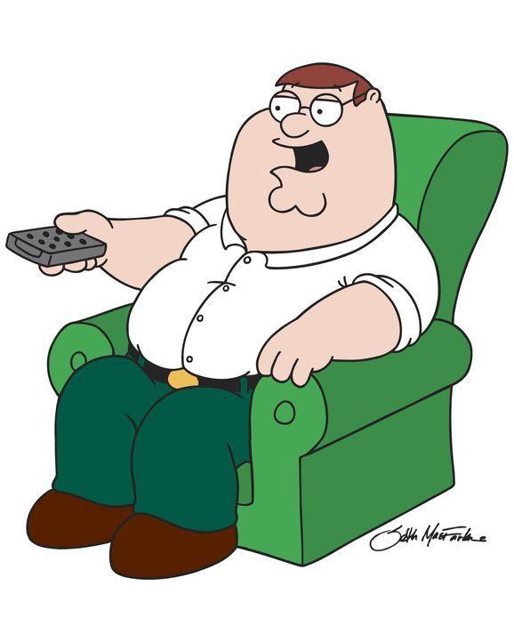 (6. Staffel) - Peters Lieblingsbeschäftigung: Auf seinem Sessel fernsehen! - Bildquelle: TM +   2005 Twentieth Century Fox Film Corporation. All Rights Reserved.