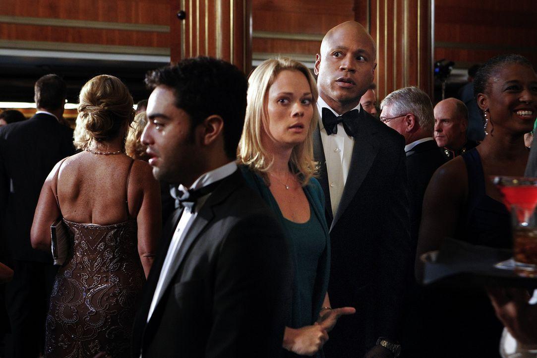 Undercover ermitteln Sam (LL Cool J, M.r.) und seine Kollegen in einem neuen Fall und stoßen dabei auf Jillian Leigh (Kate Levering, M.l.). Doch was... - Bildquelle: CBS Studios Inc. All Rights Reserved.