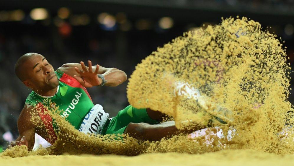 Nelson Evora ist mit 17,10 Meter neuer Europameister - Bildquelle: AFPSIDKIRILL KUDRYAVTSEV