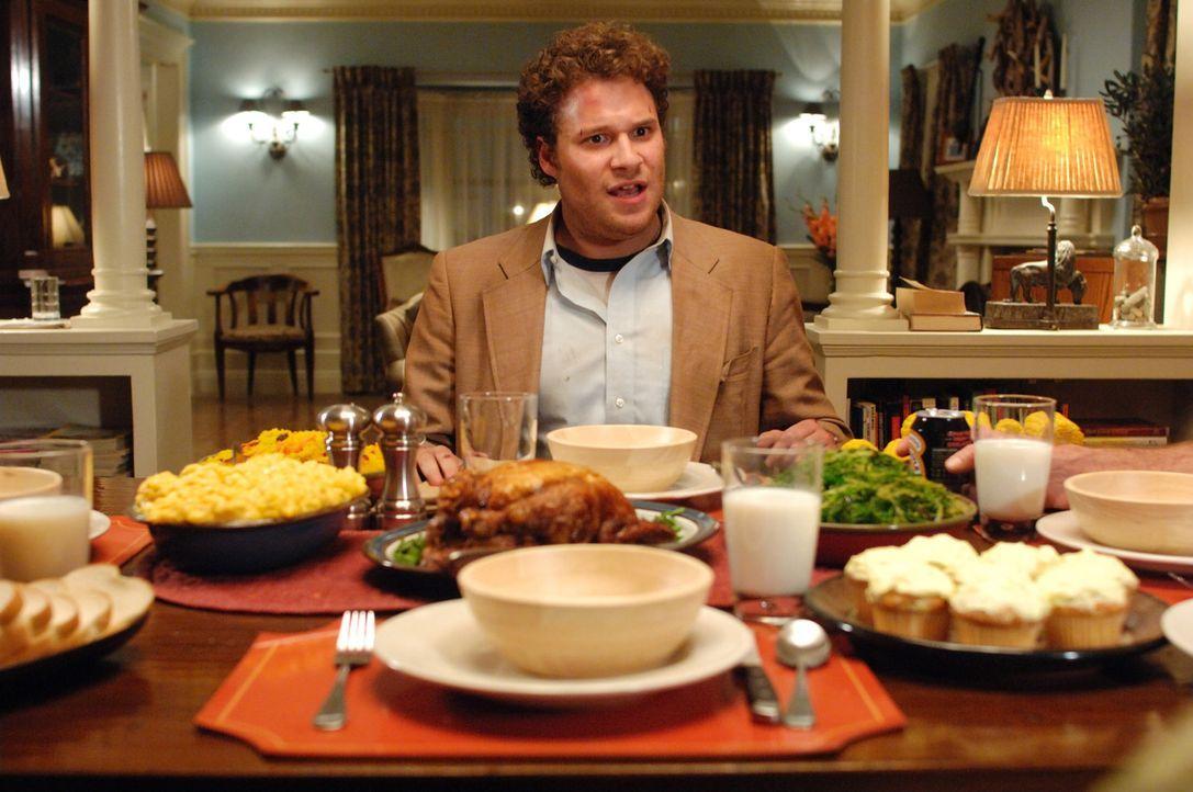 Dale (Seth Rogen) bei den Schwiegereltern? Das kann ja nicht gut gehen ... - Bildquelle: 2008 Columbia Pictures Industries Inc. All rights reserved.