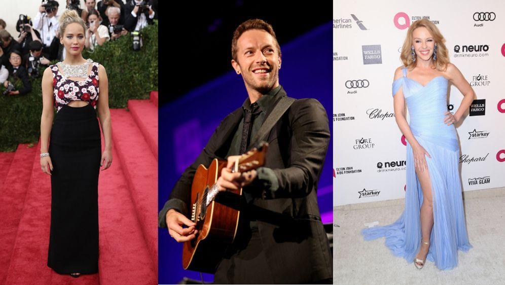 Jennifer Lawrence wütend auf Chris Martin: Affäre mit Kylie Minogue ...