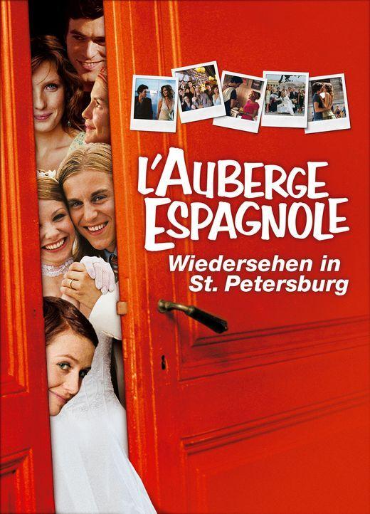 AUBERGE ESPAGNOLE, L'  - WIEDERSEHEN IN ST. PETERSBURG - Plakatmotiv - Bildquelle: Tobis Film