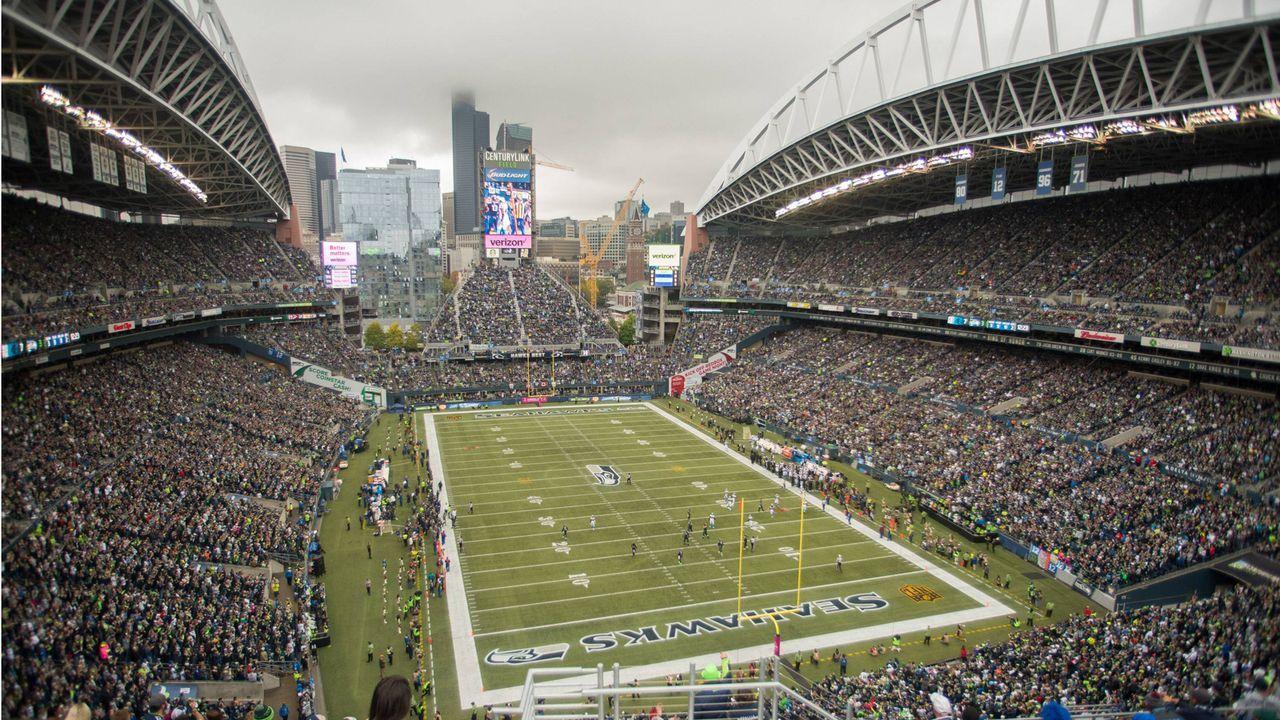2. Platz: CenturyLink Field, Seattle - Bildquelle: imago/ZUMA Press