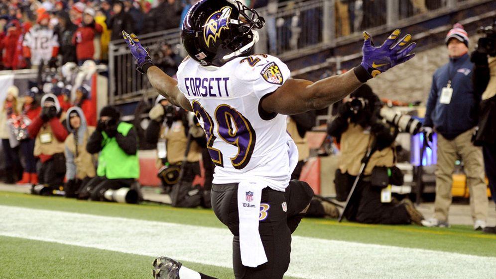 Justin Forsett spielte 2014 bis 2016 für die Baltimore Ravens - Bildquelle: 2015 Getty Images